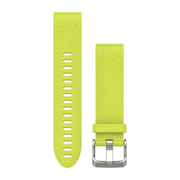 Силиконовый ремешок Garmin QuickFit 20 мм желтый