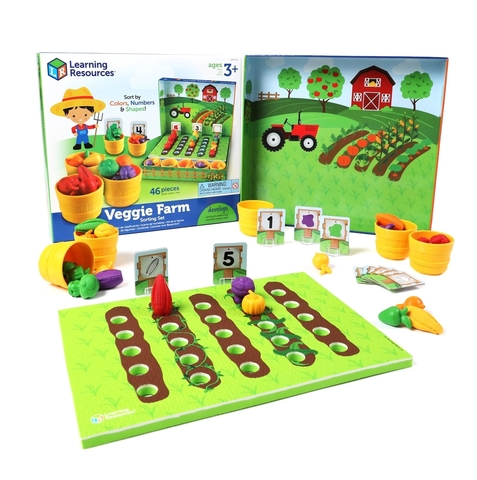 Выращиваем овощи, Learning Resources