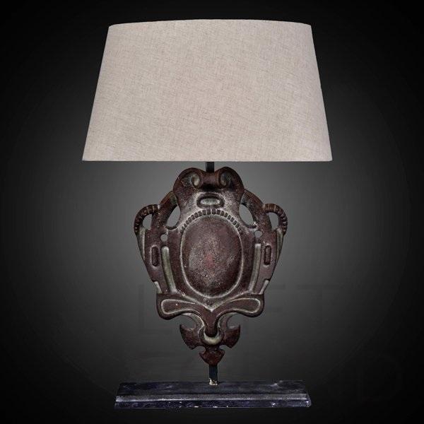 Настольная лампа Parisian Iron Shield Table Lamp