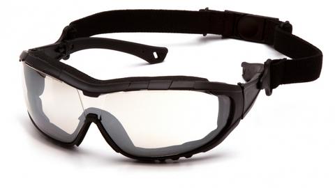 Очки баллистические тактические Pyramex V3T SB10380ST Anti-fog зеркально-серые 50%