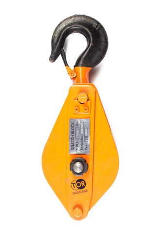 Блок монтажный с крюком TOR HQG(L) K1-1,0 т