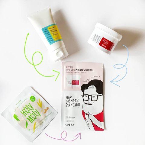 Трёхшаговый дорожный набор / Cosrx One Step Pimple Clear Kit