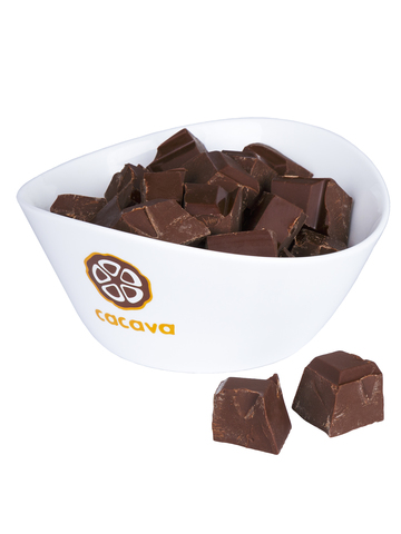 Молочный шоколад 50 % какао (Бразилия), внешний вид