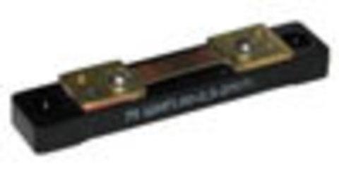 Шунт EK-75ШИП – 50А - Ток 50 А, Номинальное падение - 75 мВ, размер 100 х 20 х 13 мм.