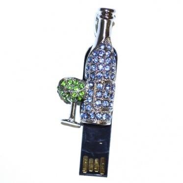 usb-флешка бутылка шампанского