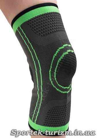 Наколенник эластичный на одну ногу Dikes (ST-2501)