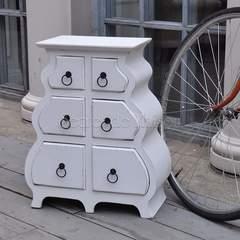 Полка с 6 ящиками Secret De Maison CORNIERE ( mod. 217-1105 ) — античный белый