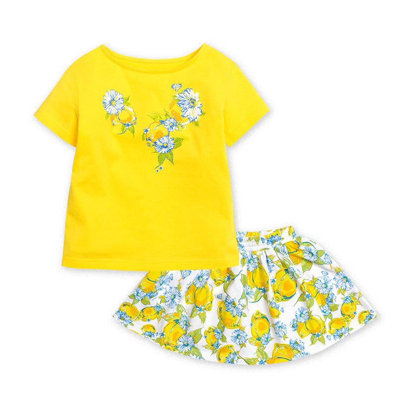 Комплект для девочки с юбкой (1-5 лет)