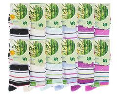 6703 Наташа носки женские 37-41 (12 шт.) цветные