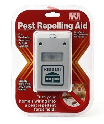 Универсальный отпугиватель тараканов, грызунов и насекомых Pest Rep...