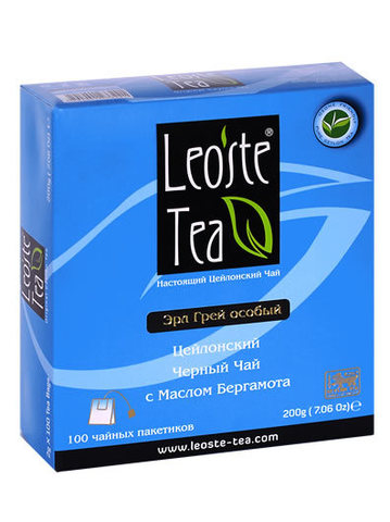 Leoste Earl Grey Special Пак/дв (100х2г)