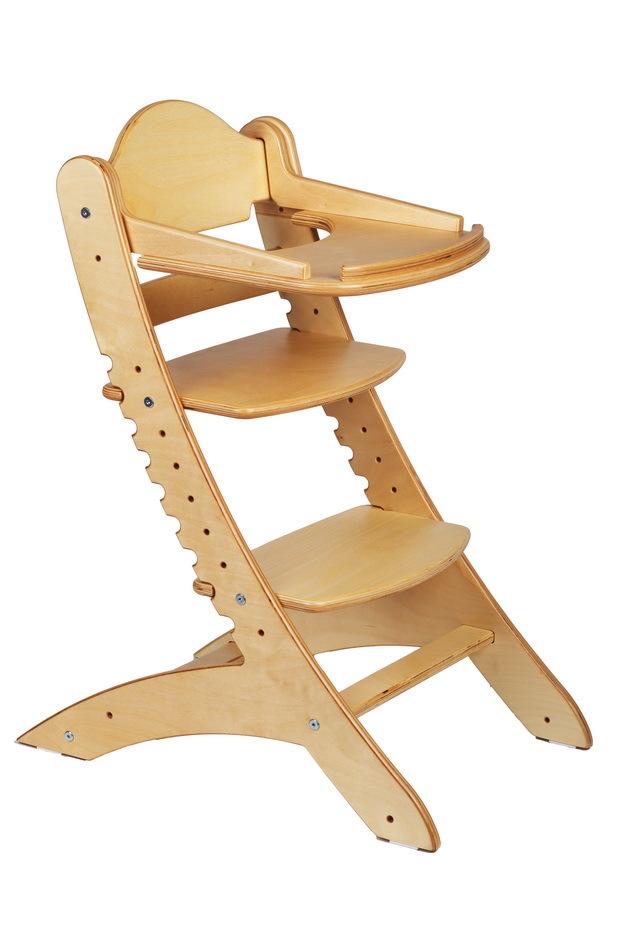 Детский растущий стул Два кота М1 Береза