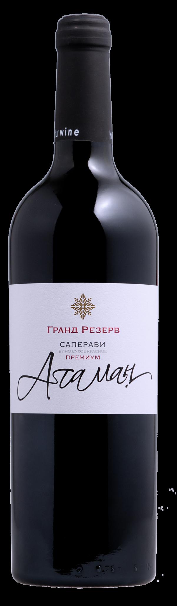 Вино Вилла Звезда Атаман Саперави