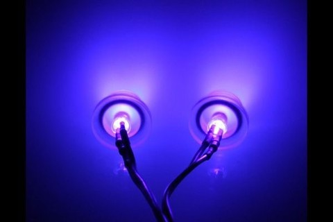 LED 3mm TWIN ULTRA UV