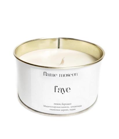 Свеча ароматическая в металле Faye, Flame