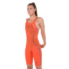 Стартовый костюм SPEEDO LZR RACER X Closedback Kneeskin orange/black ПОД ЗАКАЗ