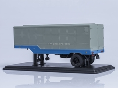 Semitrailer ODAZ-794 blue-gray Start Scale Models (SSM) 1:43