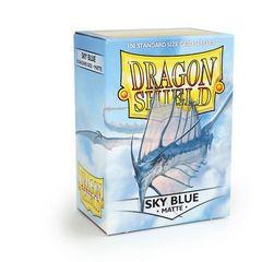 Dragon Shield - Небесно голубые матовые протекторы 100 штук