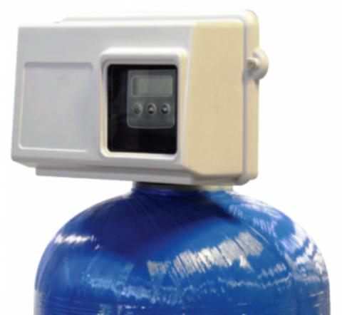 Fleck 2850Filter chr. HW NBP -  Блок управл. на фильтр. с таймером (гор.вода)