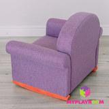 Детское кресло-качалка (мини-диванчик), Лавандовое 6