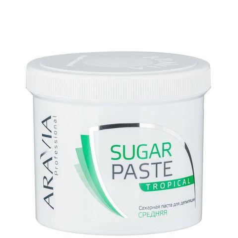 *Сахарная паста для шугаринга Тропическая средней консистенци (ARAVIA/Professional/750г/1016)