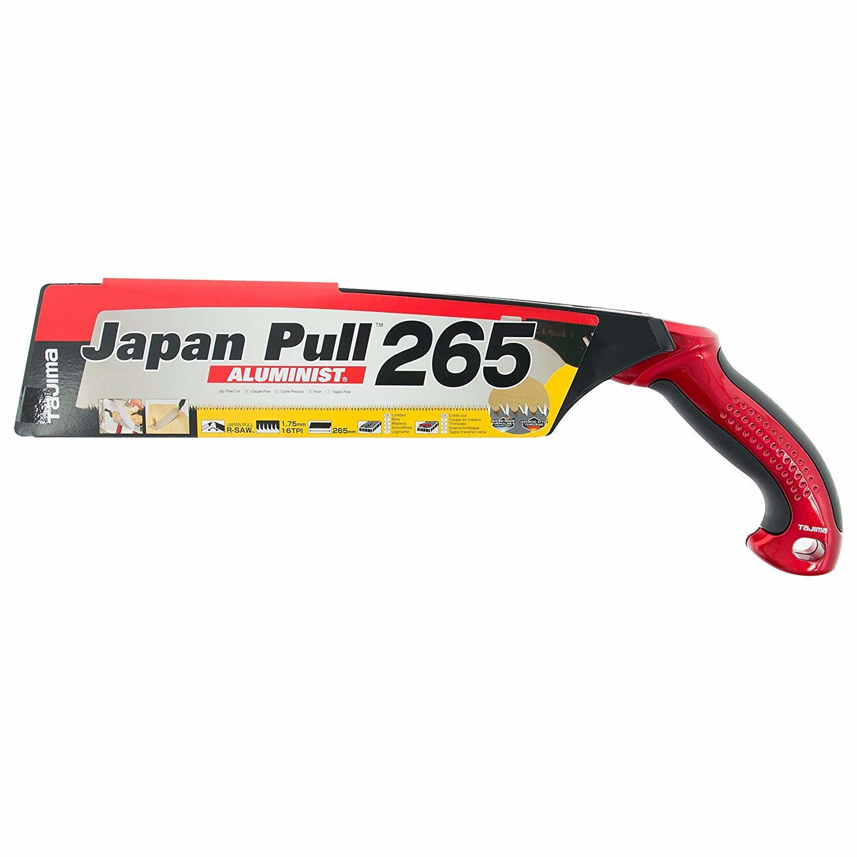Ручная пила японская с изогнутой ручкой Japan Pull Aluminist Tajima JPR265A/R1
