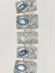 Канары (браслет из серебра)