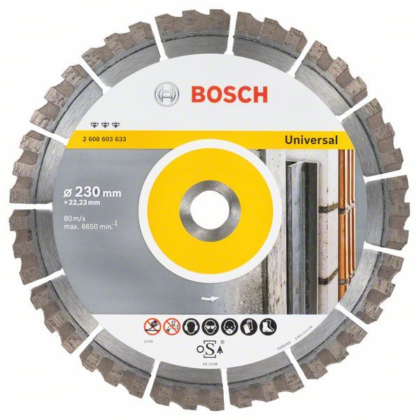 Алмазный диск Best for Universal 230-22,23 Bosch 2608603633