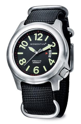 Купить Часы для спорта Momentum Steelix (нато, сапфир) по доступной цене