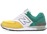 Кроссовки Мужские New Balance 576 Yellow White Green