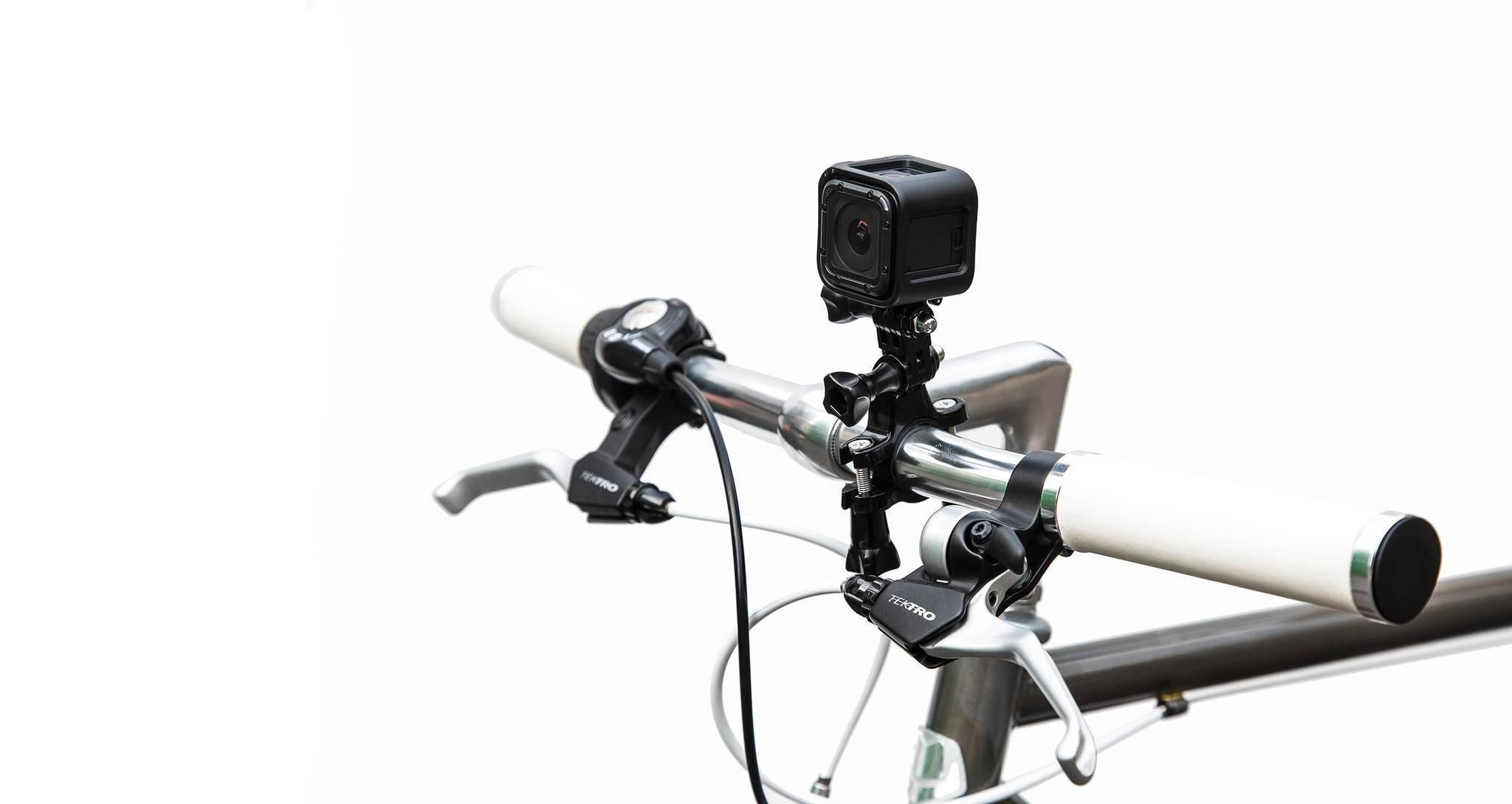 Крепление на трубу/раму диаметром 11мм –18мм GoPro GRH30 Handlebar Seatpost Pole Mount на руле спереди