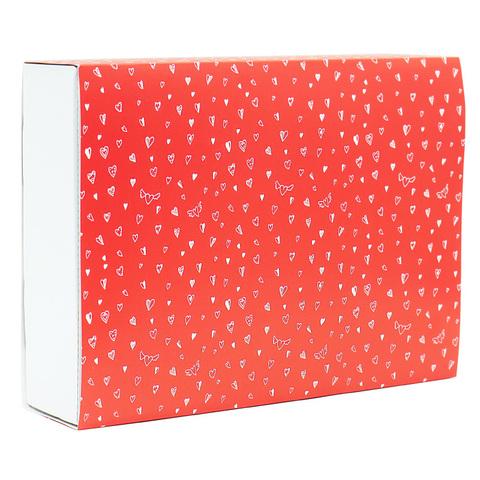 Подарочная коробка «Сердечки»
