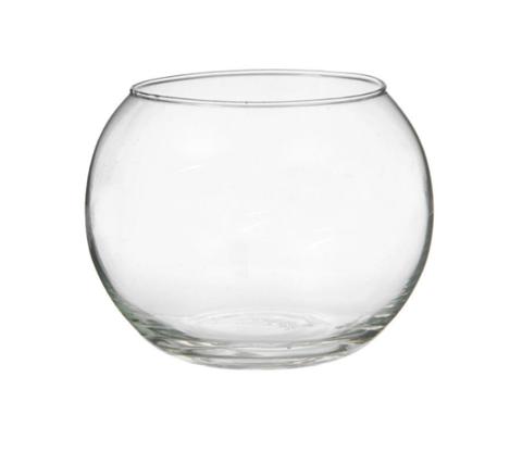 Стеклянная шаровая ваза для букетов (5л)