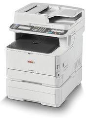Цветное лазерное МФУ OKI MC363DN - формат А4, 26 стр/ мин, разрешение 600 dpi, лоток 250 стр, сеть, Google Cloud Print 2.0, AirPrint 1.6 (46403502)