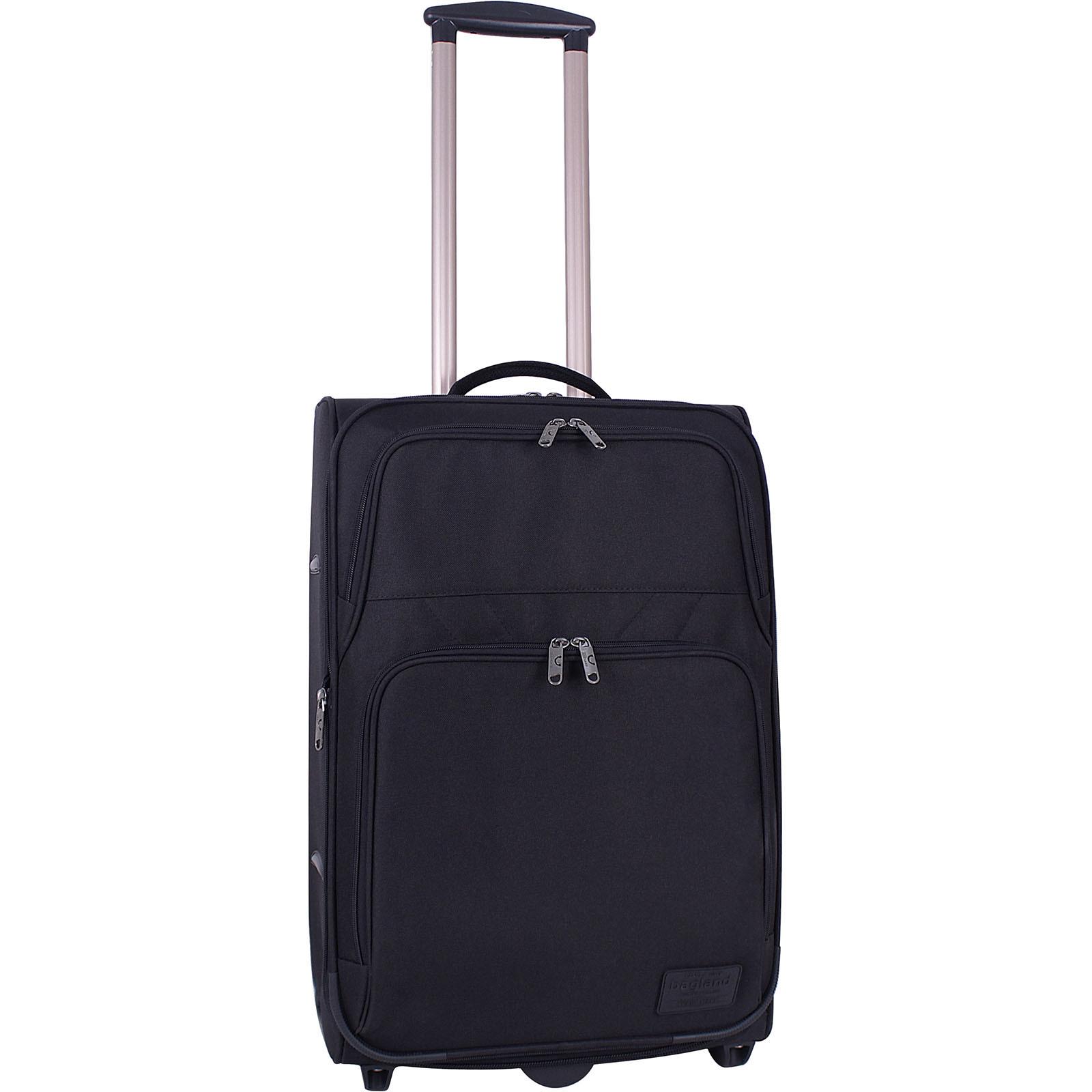 Дорожные чемоданы Чемодан Bagland Леон средний 51 л. Чёрный (003766624) IMG_9225.JPG