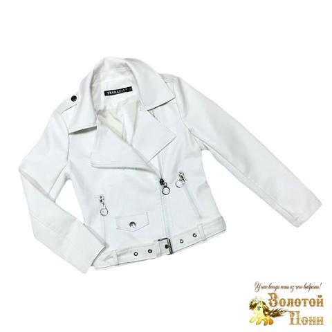 Куртка экокожа девочке (5-9) 200310-NA100