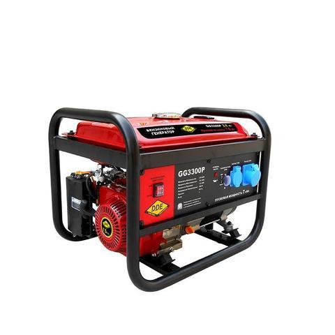 Генератор бензиновый DDE GG3300P (1ф ном/макс./пиков.  2,8/3.5/7,0 кВт, SC170, т/бак 15л, ручн./стартер, 44кг)