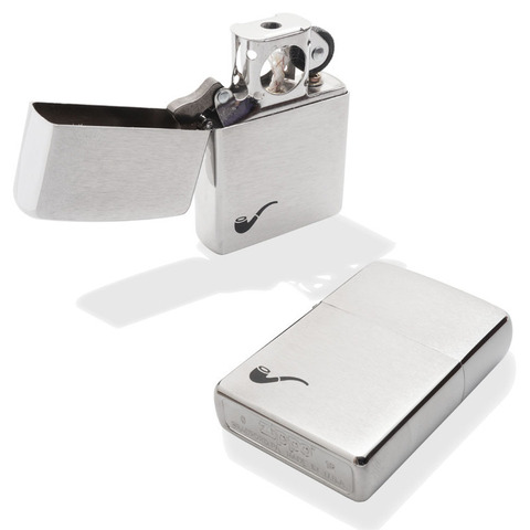 Зажигалка ZIPPO 200PL Pipe Lighter Brushed Chrome для трубок