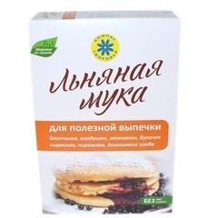 Мука Льняная для полезной выпечки, 300 гр. (Компас Здоровья)
