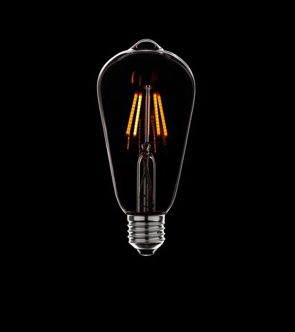 ретро–лампа Filament Bulb ST64-4Led