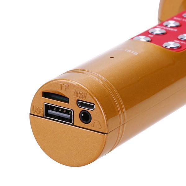 Заряжается через USB