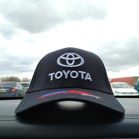 Кепка Тойота синяя (Бейсболка Toyota)