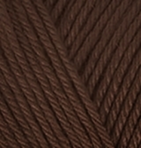 Пряжа Diva Plus Alize 26 коричневый