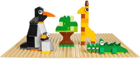 LEGO Classic: Строительная пластина желтого цвета 10699