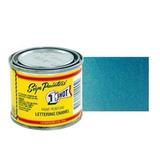 953-P Эмаль для пинстрайпинга 1 Shot Перламутровый голубой (Process Blue), 236 мл