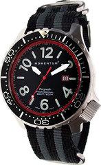 Канадские часы Momentum TORPEDO  BLAST RED 1M-DV74R7S