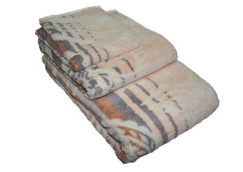 Полотенце 30x50 Cawo Noblesse 1067 Paisley коричневое