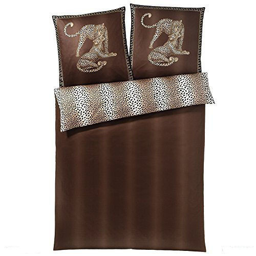 Наволочки для сна Наволочка 40x15 Elegante Gepard коричневая postelnoe-belie-gepard-2352-27-germaniya.jpg