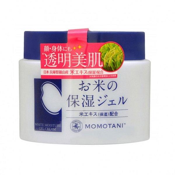 Крем для лица и тела увлажняющий с экстрактом риса Momotani Rice Moisture Cream 230г