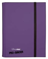 Ultra Pro - Фиолетовый альбом для хранения карт с листами 3*3